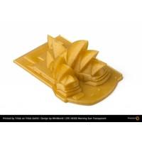 thumb-CPE HG100 Gloss, Morning Sun Transparent, greatly improved PETG filament-2