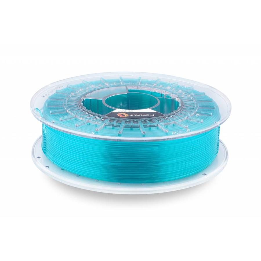 CPE (copolyester) HG100 Gloss, Iced Green Transparent, enhanced PETG filament-1