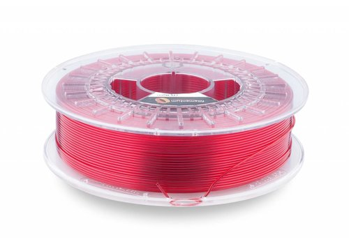 Fillamentum CPE HG100 Gloss, Red Hood Transparant, verbeterd PETG 3D filament