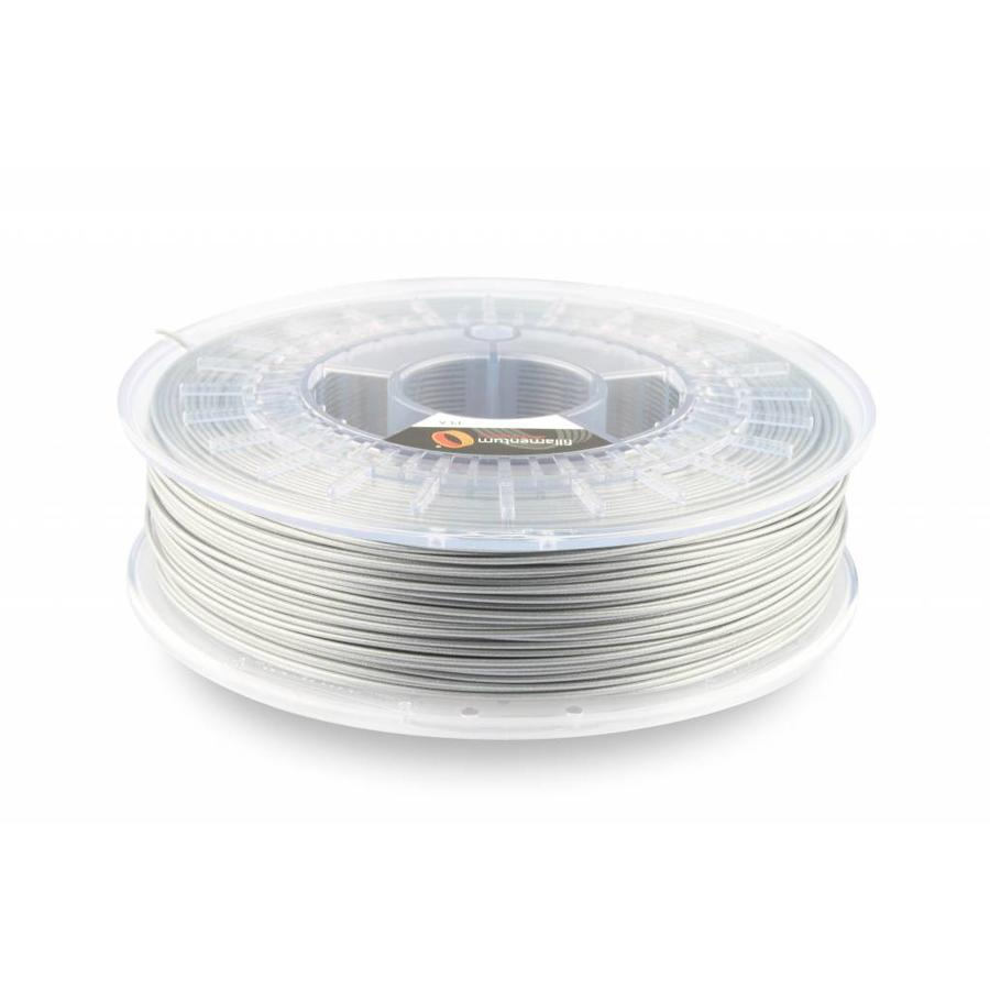 PLA Rapunzel Silver / Zilver, 1.75 / 2.85 mm, 750 gram (0.75 KG)-1