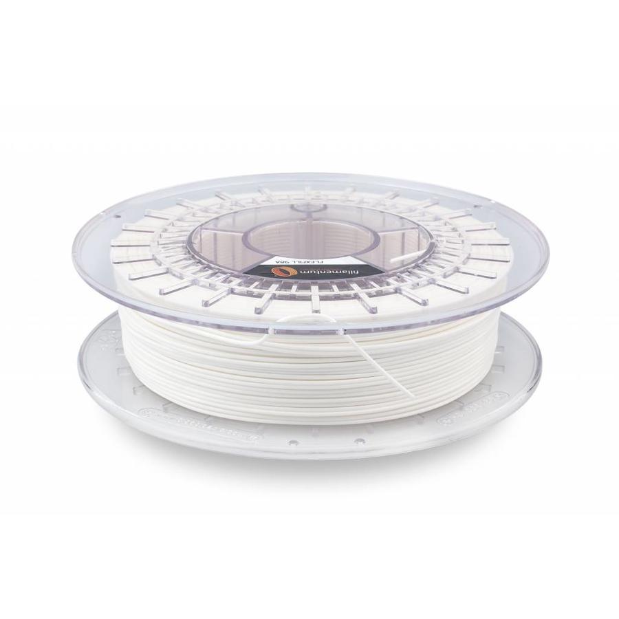 Flexfill 98A Traffic White: semi-flexibel 3D filament, RAL 9016 / PMS 705, 500 gram-1