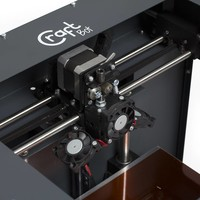 CraftUnique Craftbot PLUS 3D printer - Anthracite