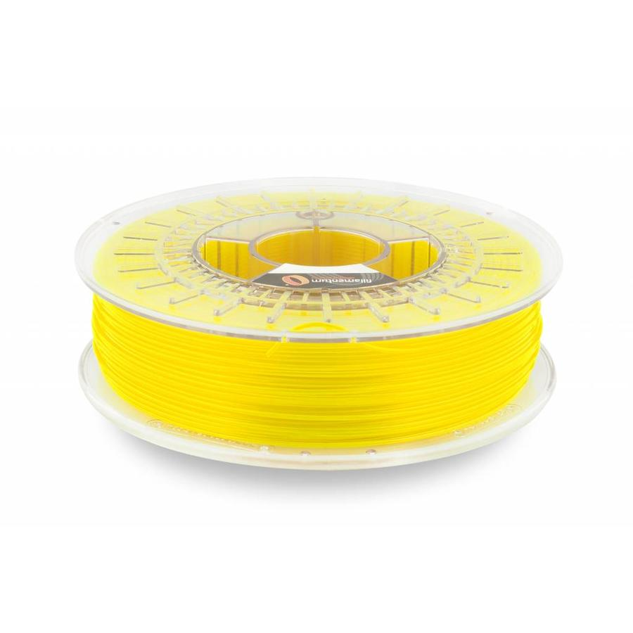 CPE (co-polyester) HG100 Gloss, NEON Yellow, 750 gram (0.75 KG)