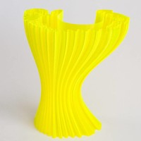 thumb-CPE (co-polyester) HG100 Gloss, NEON Yellow, 750 gram (0.75 KG)-3