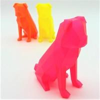 thumb-CPE HG100 Gloss, NEON Orange Transparant, verbeterd PETG filament-4