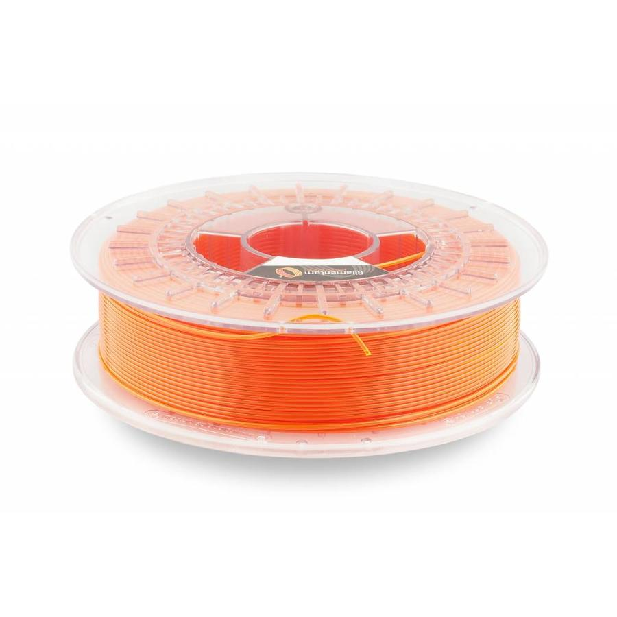 CPE HG100 Gloss, NEON Orange Transparant, verbeterd PETG filament-1