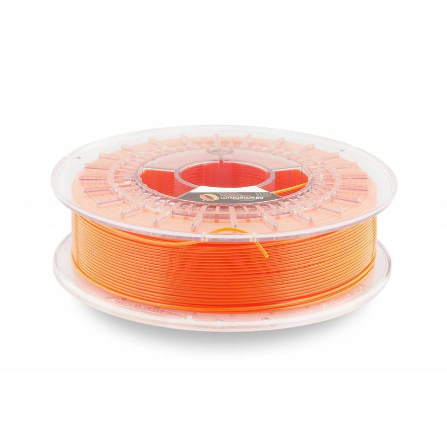 CPE HG100 Gloss, NEON Orange Transparent, enhanced PETG filament-1