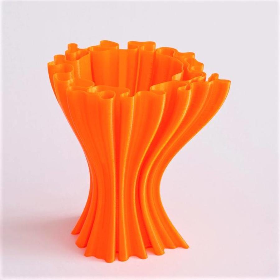CPE HG100 Gloss, NEON Orange Transparant, verbeterd PETG filament-3