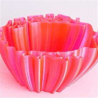 thumb-CPE (co-polyester) HG100 Gloss, NEON Pink, 750 gram (0.75 KG)-3