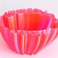 thumb-CPE HG100 Gloss, NEON PinkTransparant, verbeterd PETG filament-3