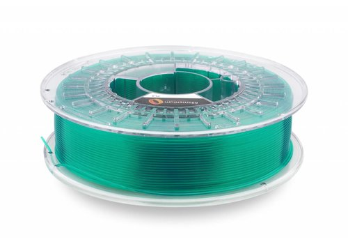 "Fillamentum PLA Crystal Clear-""Smaragd Green"", 1.75 / 2.85 mm, 750 grams (0.75 KG)"