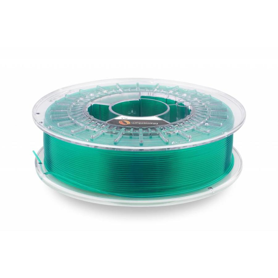 "PLA Crystal Clear-""Smaragd Green"", 1.75 / 2.85 mm, 750 grams (0.75 KG)"