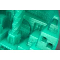"thumb-PLA Crystal Clear-""Smaragd Green"", 1.75 / 2.85 mm, 750 grams (0.75 KG)-3"