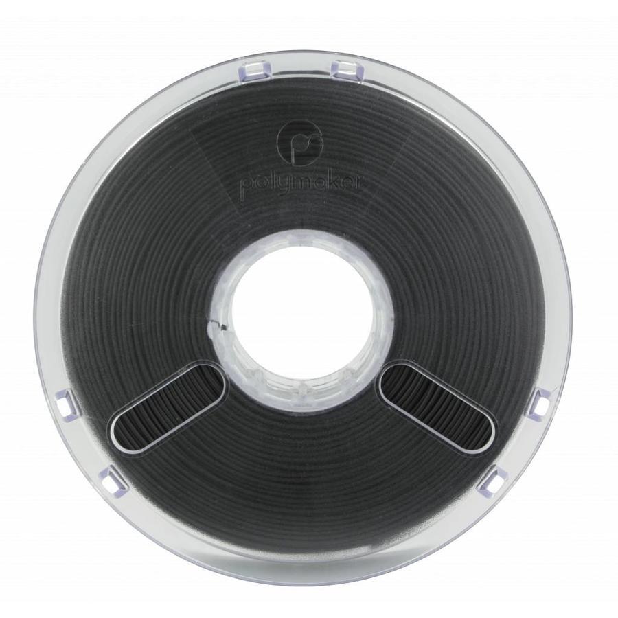 PolyLite™ PLA True Black/zwart, RAL 9005, 1.000 gram (1 KG) Jam Free 3D filament-3