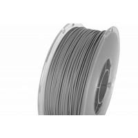 thumb-PolyLite™ PLA True Grey, RAL 7042, Pantone 429, 1.000 gram (1 KG) Jam Free 3D filament-1