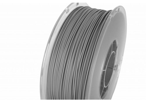 PolyLite™ PLA True Grey, RAL 7042, Pantone 429, 1.000 gram (1 KG) Jam Free 3D filament