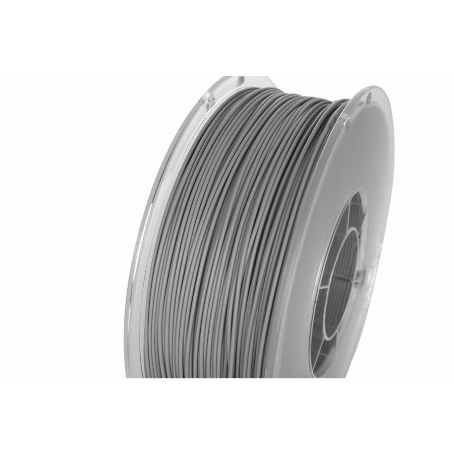 PolyLite™ PLA True Grey, RAL 7042, Pantone 429,  1.000 gram (1 KG) Jam Free 3D filament-1