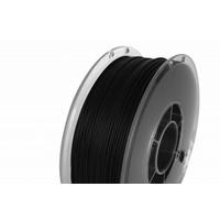 thumb-PolyLite™ PLA True Black, RAL 9005, 1.000 gram (1 KG) Jam Free 3D filament-1