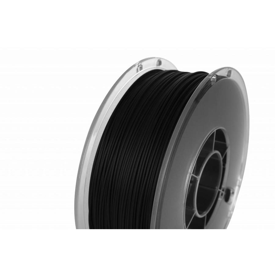PolyLite™ PLA True Black/zwart, RAL 9005, 1.000 gram (1 KG) Jam Free 3D filament-1