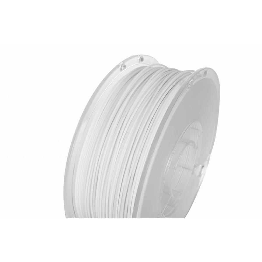 PolyLite™ PLA True White, RAL 9003, 1.000 gram (1 KG), Jam Free 3D filament-1
