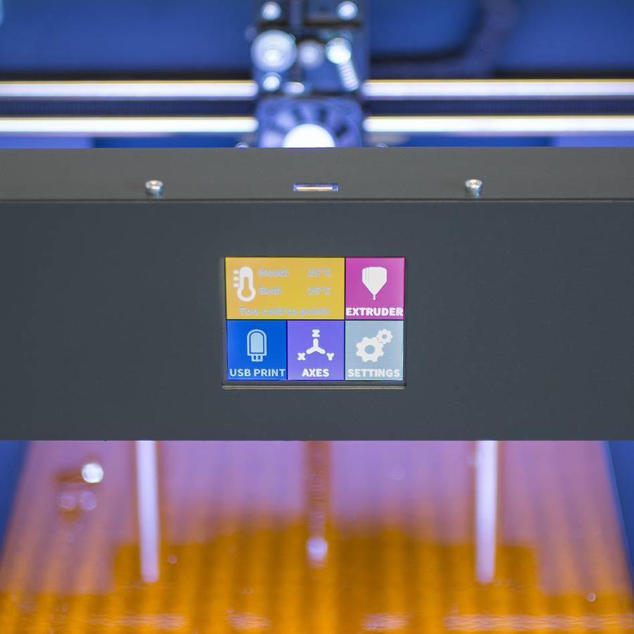 Craftbot PLUS 3D printer - anthracite-3