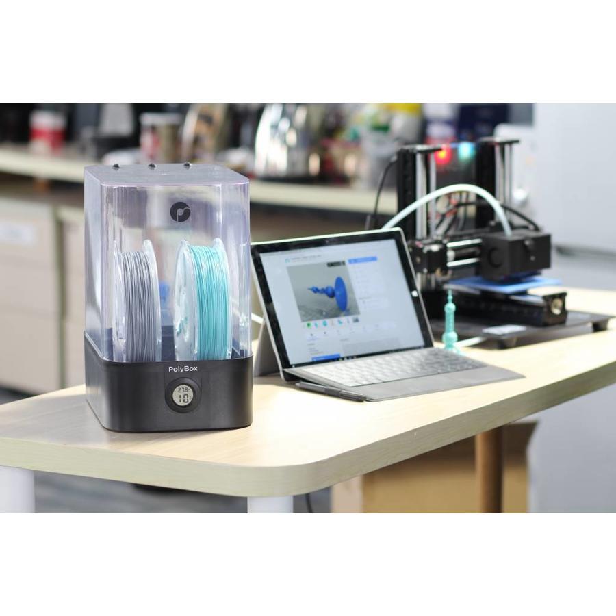 PolyBox™ opslagcontainer voor ideale temperatuur en vochtigheid van uw 3D filamenten-7