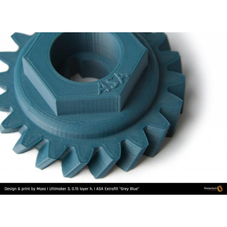 ASA Grey Blue - technical polymer, 750 grams-3