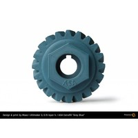 thumb-ASA Grey Blue - technical polymer, 750 grams-2