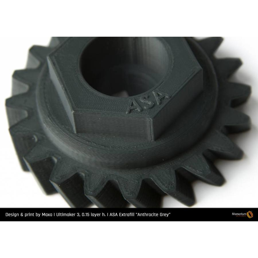 ASA Antraciet Grijs / Anthracite Grey - RAL 7016 - technical polymer, 750 grams-2