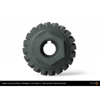 thumb-ASA Anthracite Grey - RAL 7016 - technical polymer, 750 grams-5
