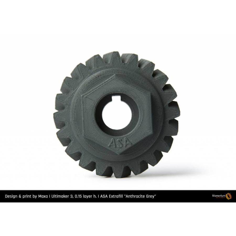 ASA Anthracite Grey - RAL 7016 - technical polymer, 750 grams-5