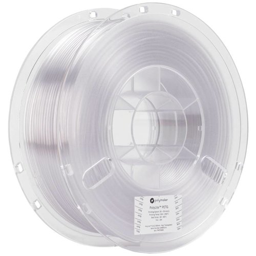 Polymaker PolyLite™ PETG, transparent / neutral, 1 KG