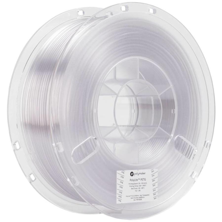 PolyLite™ PETG, transparent / neutral, 1 KG-1