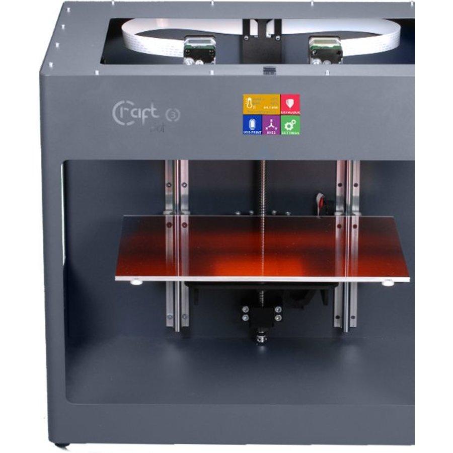 Craftbot 3 - antraciet- 3D printer-5