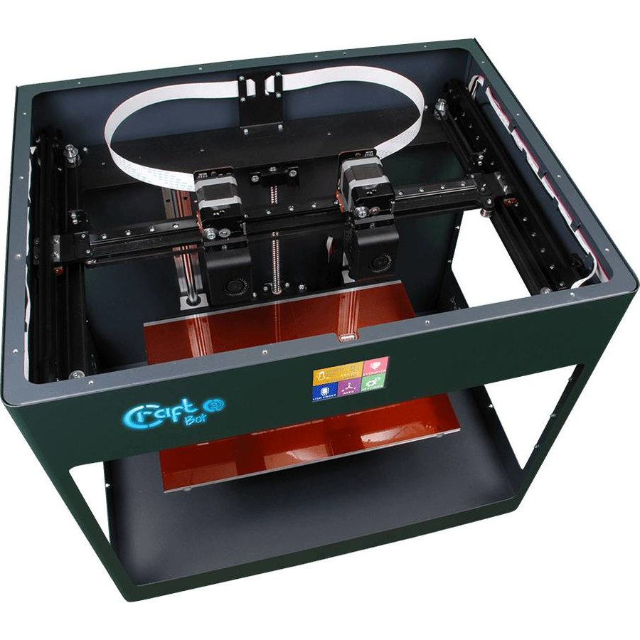 Craftbot 3 - antraciet- 3D printer-4