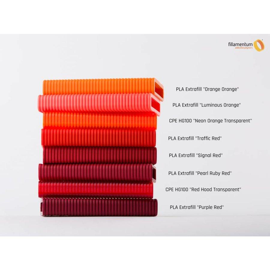 PLA Signal Red, RAL 3001 / Pantone 484, 750 grams (0.75 KG)-2