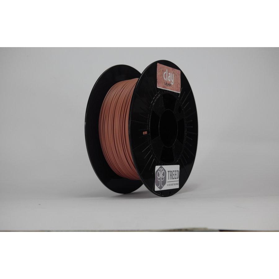Clay 3D filament, clay filament, 750 grams (0.75 KG)-3