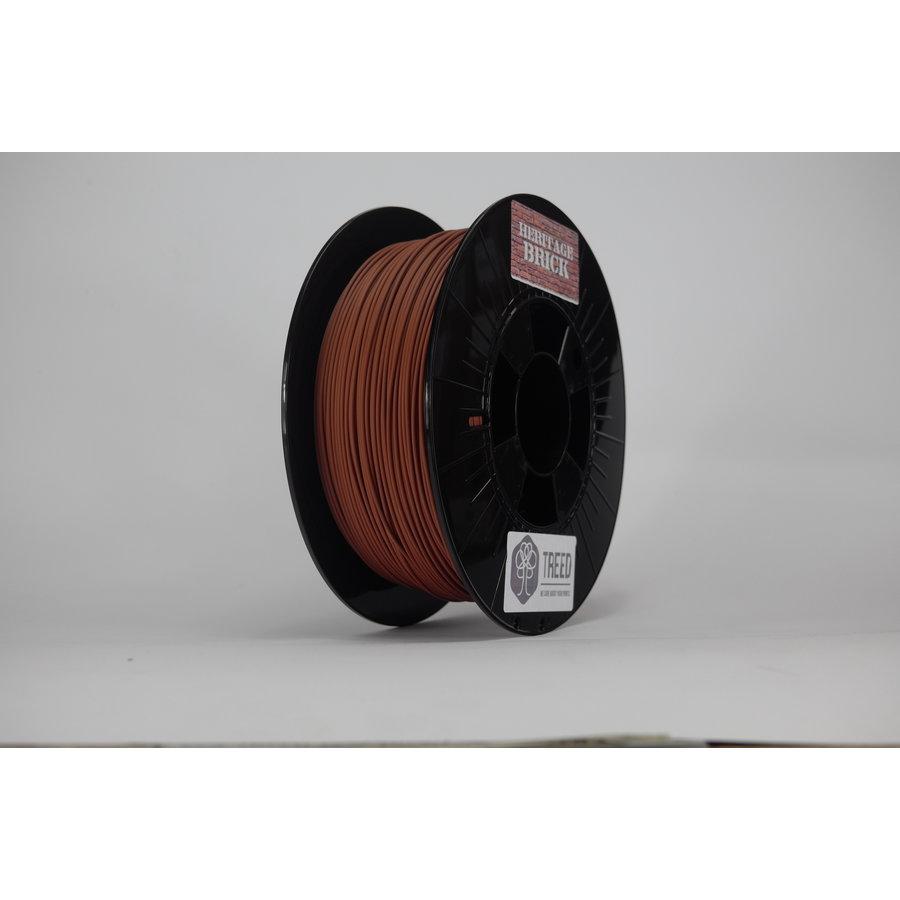 Heritage Brick 3D filament, baksteen filament, 750 gram (0.75 KG)-3
