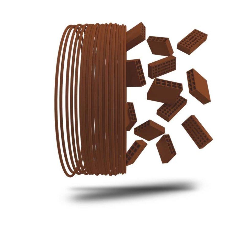 Heritage Brick 3D filament, baksteen filament, 750 gram (0.75 KG)-1
