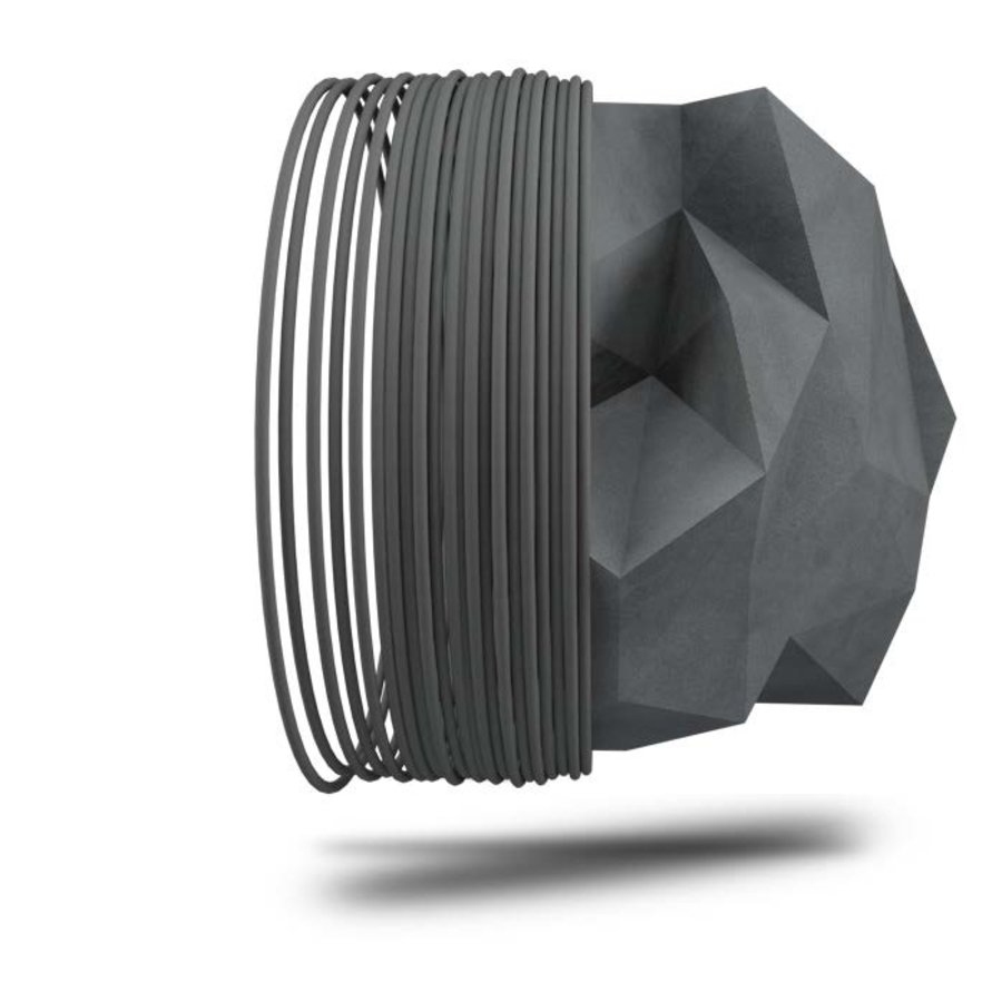Dark Stone 3D filament, steen filament, 750 gram (0.75 KG)-1