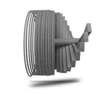 thumb-Caementum 3D filament, beton filament , 750 gram (0.75 KG)-1