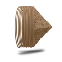 thumb-SANDY - sand 3D filament, 750 grams (0.75 KG)-1