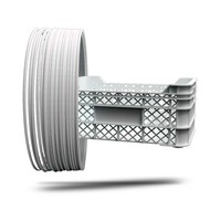 thumb-P-LENE4, Polypropyleen filament, RAL9003-Signal White, 750 gram (0.75 KG)-1