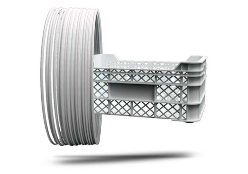 Treed P-LENE4, Polypropyleen filament, RAL9003-Signal White, 750 gram (0.75 KG)