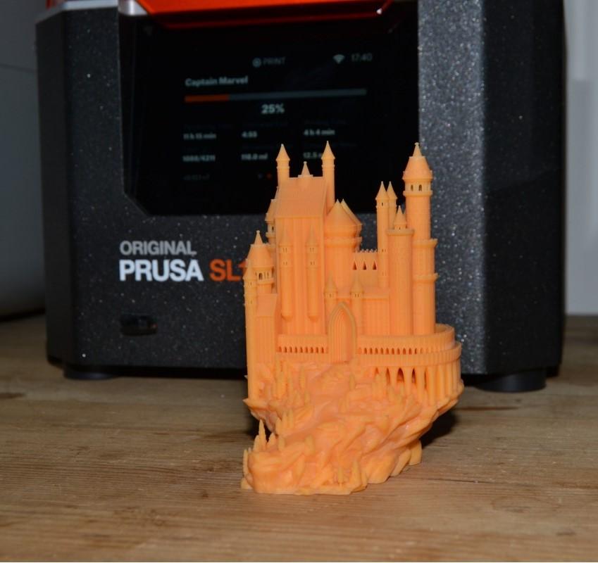 Prusa SL1 printer met washing station