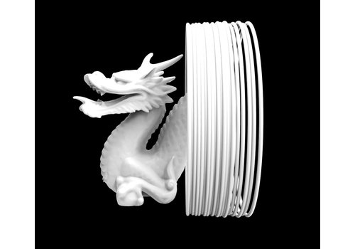 Treed Shogun PLA  white - heat resistant & extra hard PLA PLUS filament, 1.000 grams (1 KG)
