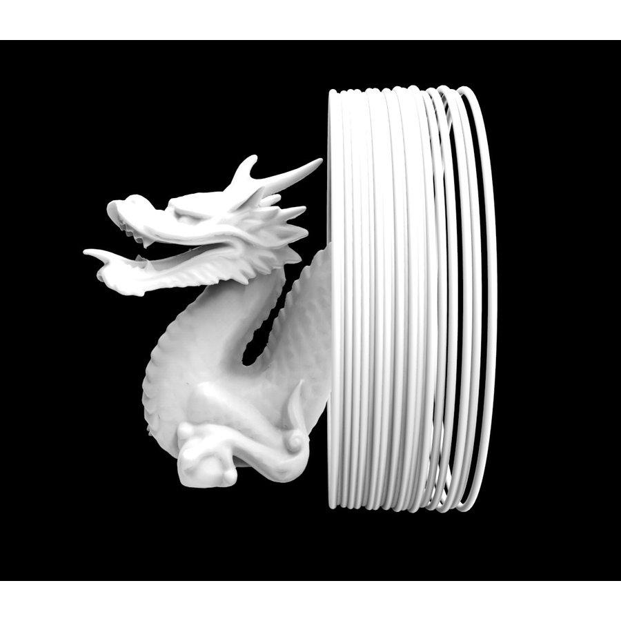 Shogun PLA white - heat resistant & extra hard PLA PLUS filament, 1.000 grams (1 KG)-1
