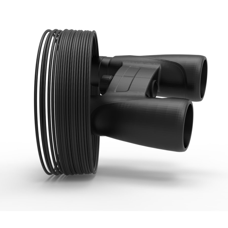 Shogun HT PLA zwart - hittebestendig & extra hard PLA PLUS filament, 1.000 gram (1 KG)-1