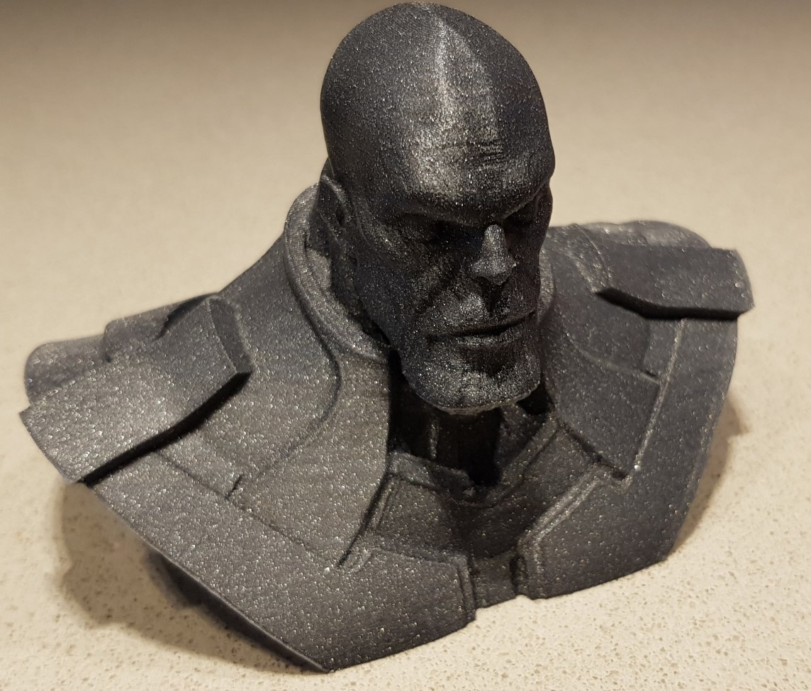Thanos in PLA Vertigo Grey Plasticz