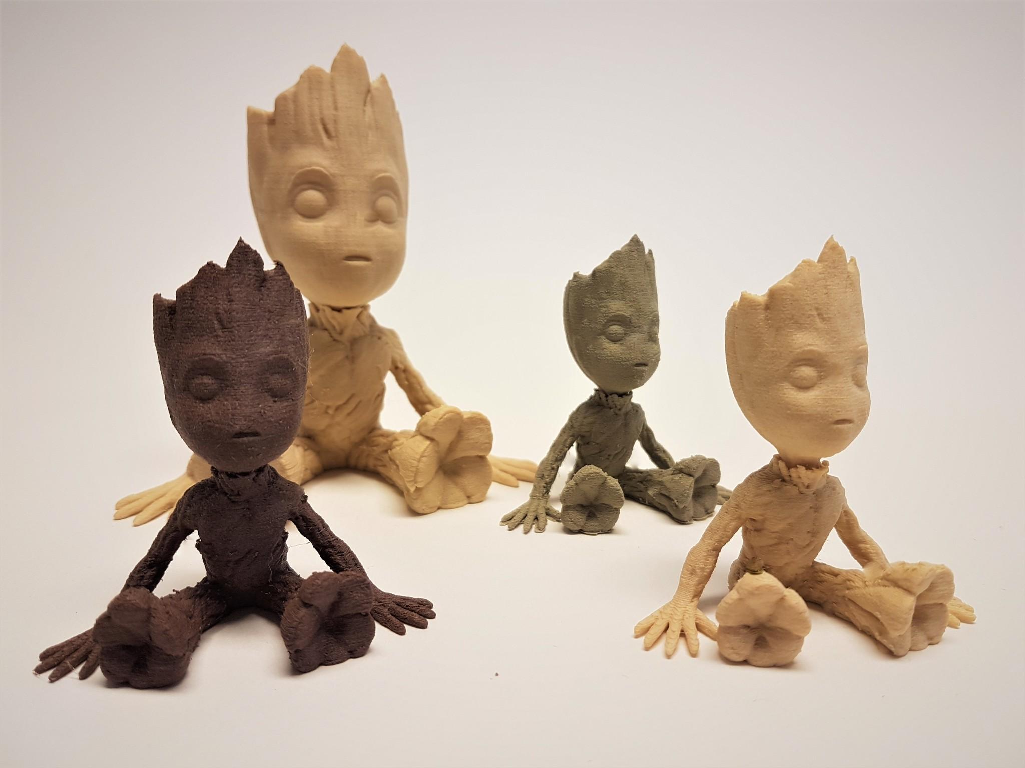 Timberfill wood PLA Plasticz